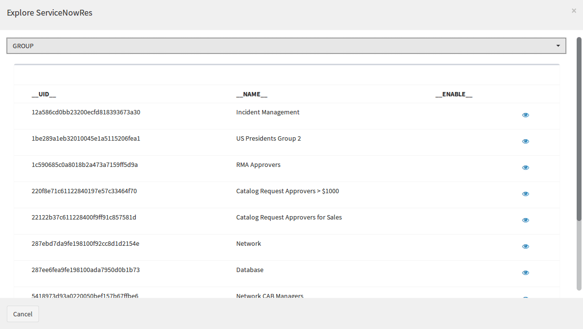 Syncope Basics: Manage ServiceNow